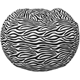Comfort Research Classic Bean Bag in Zebra