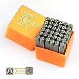 OWDEN Professional 36Pcs. Steel Metal Stamping Tool Set,(3/16