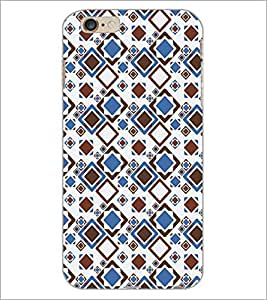 PrintDhaba Pattern D-5237 Back Case Cover for APPLE IPHONE 6 (Multi-Coloured)