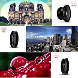 Cell Phones Accessories Best Deals - MEMTEQ® Universal 5 in 1 Cell Phone Camera Lens Kit Clip-On FishEye Lens + 2 in 1 Macro Lens + Wide Angle Lens + Teleconverter + CPL Filter Universal Clip Phone Camera Lens for Android/ iOS Smartphone, iPhone 7, 6, 6 plus, 5, 5C, 5S, 4, 4s, iPad 2, 3, 4,