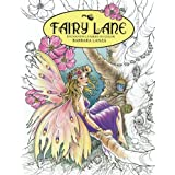 Fairy Lane: Enchanting Fairies to Color (Fairy Lane Books) (Volume 1)