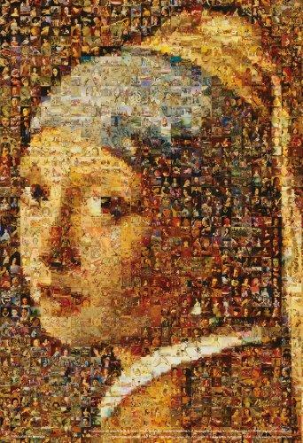 1000ピース モザイク 真珠の耳飾りの少女 M81-512