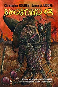 "Cover of ""Bloodstained Oz"""