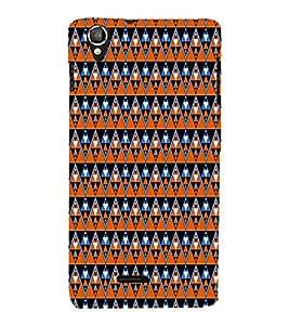 House Culture Pattern Cute Fashion 3D Hard Polycarbonate Designer Back Case Cover for Lava Iris X8