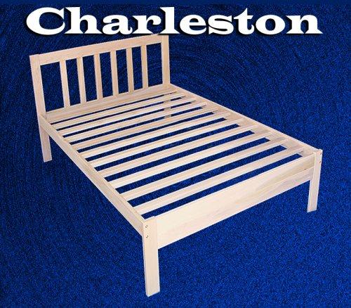 Ideal Charleston Solid Hardwood Platform Bed Frame Twin Size