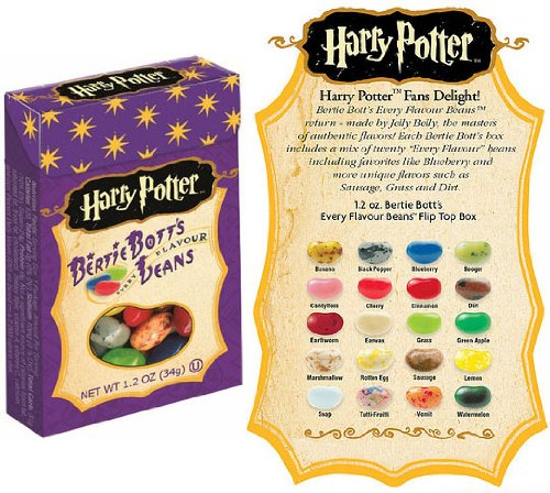 Harry Potter Bertie Bott's Every Flavour Jelly Belly Beans 1.2 OZ (34g) x3 (Different Flavored Jelly Beans compare prices)
