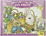 Jan Brett Easter Floor Puzzle by NEW YORK PUZZLE COMPANY