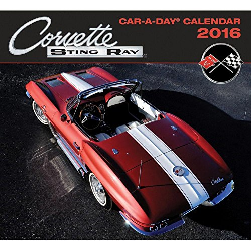 Corvette Car-a-Day Desk Calendar by Quarto
