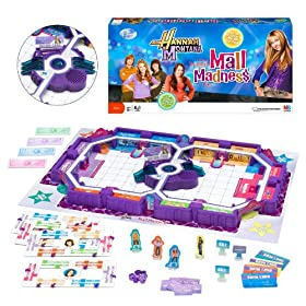 Mall Madness Hannah Montana board game!