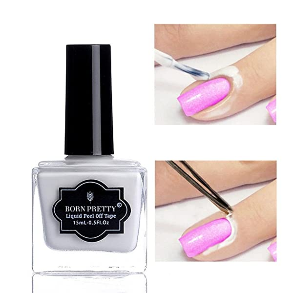 Born Pretty 15ml Nail Art Latex Tape Peel Off Liquid Nail Polish ...