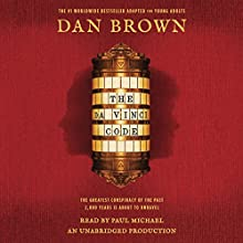The Da Vinci Code (The Young Adult Adaptation) Audiobook by Dan Brown Narrated by Paul Michael