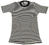 THERMAL BORDER SHORT SLEEVE TEE(サーマルボーダー半袖Tシャツ) (Mサイズ, BK(ブラック太い))