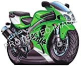 Koolart Sticker Decal 0664 ZX7R Ninja Kawasaki Bike Large Ideal Christmas Or Birthday Gift