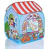 PopUp tienda jugar para niños MARCADO y 100 bolas para casa y exterior plegable - ROCHA