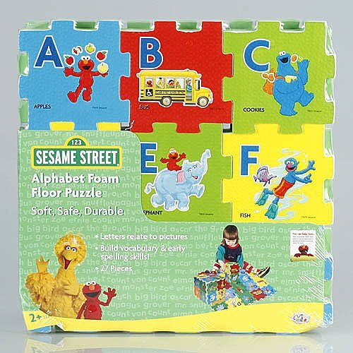 Sesame Street Alphabet Foam Floor Puzzle by Verdes