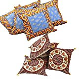 Ufc Mart Buy Cushion Cover Set N Get Cushion Cover Set Free, Color: Multi-Color,#Ufc00384