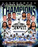 "Seattle Seahawks 2014 Super Bowl XLVIII Championship Composite Photo (Size: 8"" x 10"") at Amazon.com"