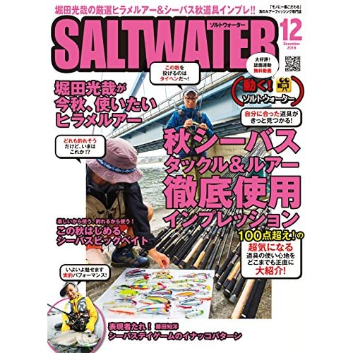 SALT WATER(ソルトウォーター) 2016年 12 月号 [雑誌]