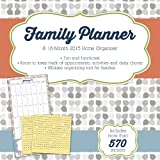 Family Planner (w/bonus sticker sheet) 2015 Wall Calendar