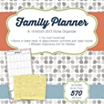 Family Planner (w/bonus sticker sheet...