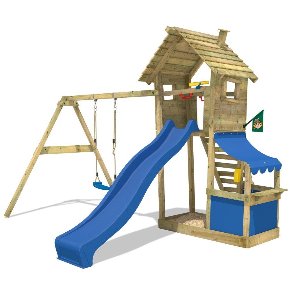 WICKEY Smart Shop Spielturm Kletterturm Schaukel Rutsche Sandkasten jetzt kaufen