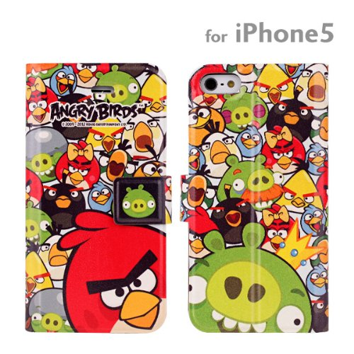 Best Price Angry Birds Diary Style iPhone 5 Case