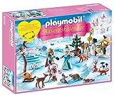 """Playmobil 9008 Calendrier de l'Avent """"Famille royale en patins à glace""""(6)..."""