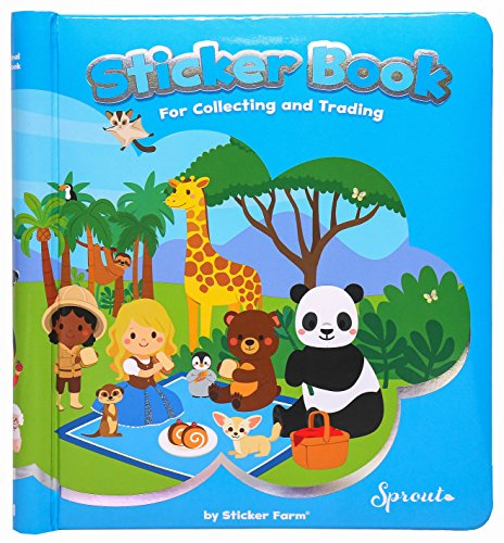 Sprout Size- Original Sticker Book for Collecting and Trading Stickers - 1