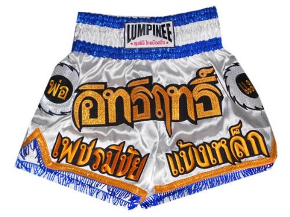 Short de Muay Thai Lumpinee blanc