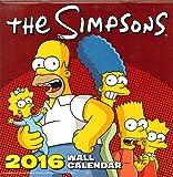 シンプソンズ/SQ(D) 2016年輸入カレンダー/THE SIMPSONS/AA16-708