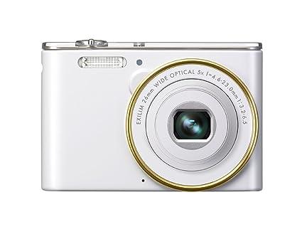 "Casio Exilim EX-JE10WEGCA Appareil photo Numérique LCD 2,7"" (6,9 cm) 5x USB SD Blanc"