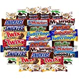 Ultimate Bar Variety Pack Chocolate Bar & Candy Mixed Assortment Includes Snickers, Twix, Payday, Mounds, Almond Joy, 3 Musketeers, Junior Mints, Baby Ruth, Korovka & Many More!! Includes Our Exclusive Custom Varietea Mints Bulk Sampler of 40 Packs