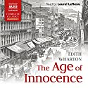 The Age of Innocence Audiobook by Edith Wharton Narrated by Laurel Lefkow