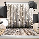 WOLADA 10X10FT Wood Floor Wall Vinyl Photography Background Newborn Backdrop Photo Studio Props 10358 (Color: 10358 10x10, Tamaño: 10x10ft)