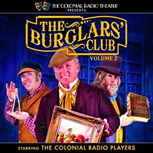 The Burglars' Club, Vol. 2 Audiobook