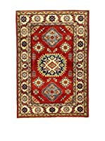 L'Eden del Tappeto Alfombra Uzebekistan Super Rojo / Beige 147  x  100 cm