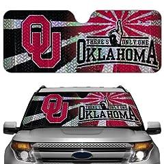 Buy NCAA Oklahoma Sooners Auto Sun Shade by Team ProMark