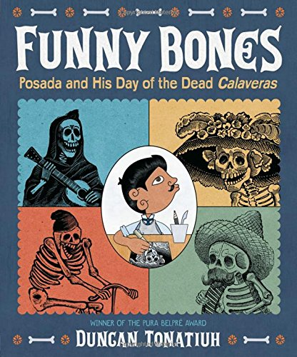 Funny Bones: Posada and His Day of the Dead Calaveras PDF