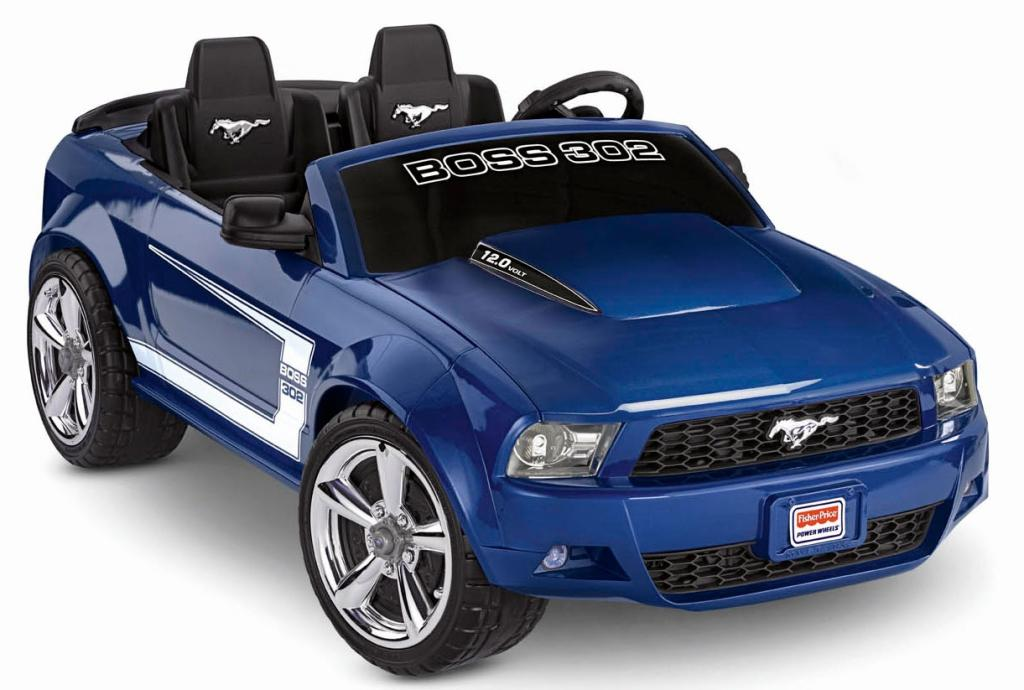 Amazon Com Fisher Price Power Wheels Ford Mustang Boss