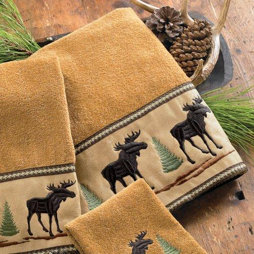 Moose & Pine Bath Towel