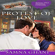 Protest of Love: The Monday Mystery Society Book 5 (       UNABRIDGED) by Samna Ghani Narrated by Don Colasurd Jr.