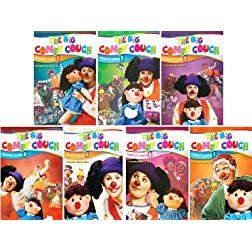 The Big Comfy Couch - The Complete Series - 100 Episode Collector's Edition - 22 DVD Set