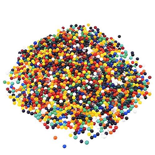 eBoot 12 Colori 2400 Pezzi Cristallo Gel Water Perline Gelatina Acqua Perla Vaso Filler, 24 Confezione
