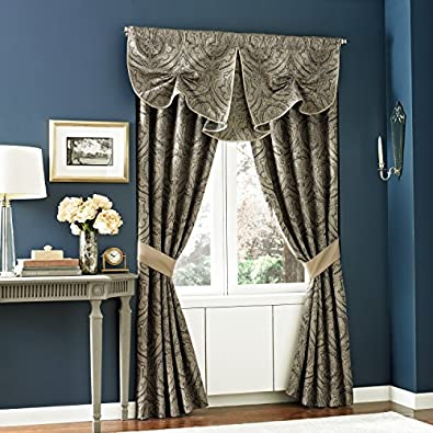 Croscill Hannah 50 X 21 Curtsey Window Valance Shoes