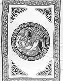Celtic Dragon & Woman Sarong