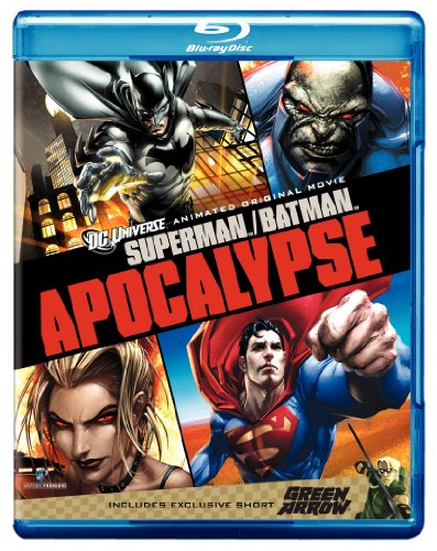 Supermanbatman Apocalypse Blu-ray