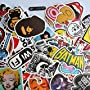 Car Stickers Decals Pack 100 Pieces  Stickers Skateboard Graffiti Laptop Luggage Car Bike Bicycle Decals Random Patterns Diageng