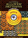Full-Color Allover Patterns CD-ROM and Book