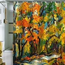 Shower Curtain Autumn Woods (by DENY Designs)
