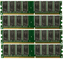 4GB (4x1GB) RAM MEMORY Tyan Tiger i7505 (S2668) Motherboard DDR (ALL MAJOR BRANDS)